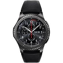 Samsung Gear S3 Frontier Smartwatch, GPS, IP68, Nero [Versione Italiana]