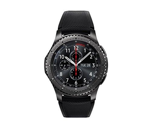 Samsung Gear S3 Frontier Smartwatch, GPS, IP68, Grigio scuro [Versione Italiana]