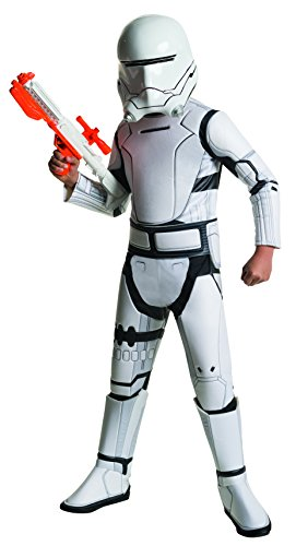 Rubie' s ufficiale disney star wars super deluxe flametrooper, child costume - large