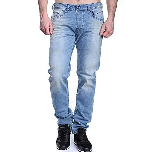 Diesel - Jeans Belther 084cu Bleu - Couleur Bleu - Taille W32 L32