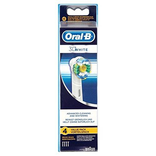 Oral-B Aufsteckbürsten 3D-White 4 Stück pro Packung
