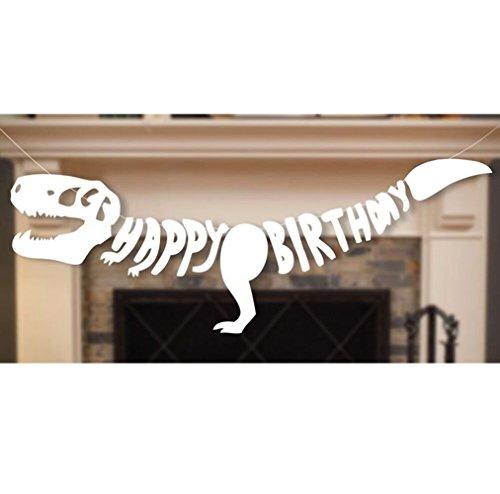 r Dinosaurier Geburtstag Girlande Party Deko (Dinosaurier-geburtstag)