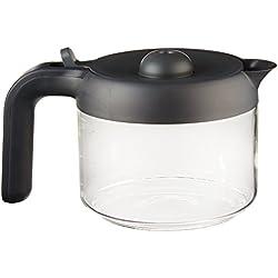 verseuse complète 3/6 tasses noire pour cafetière kmix