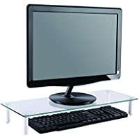 Newstar Transparent Monitor Stand (Clear Acrylic) - Notebook Stands (Transparent, 25 kg, 560 mm, 210 mm, 80 mm) - Trova i prezzi più bassi su tvhomecinemaprezzi.eu