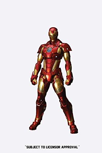 Iron Man Re:Edit Iron Man 01 Bleeding Edge Armor Version Action Figure