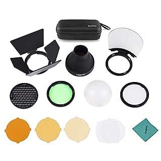Godox AK-R1 Pocket Flash Accessory Kit for Godox H200R Round Flash Head Accessories