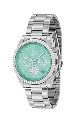 Reloj Marea Mujer B41155/4 Metálico Multifunción Verde Agua