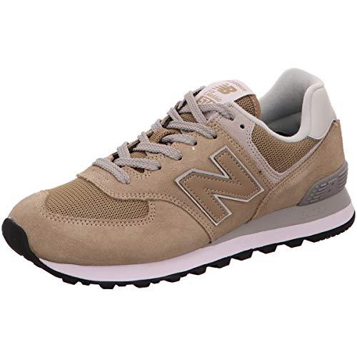 New Balance Herren Sneaker Sneaker ML 574 633141-60/11 braun 485275