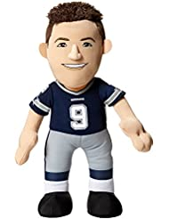 NFL Dallas Cowboys Tony Romo Player Plush Doll, 6.5-Inch x 3.5-Inch x 10-Inch, Blue