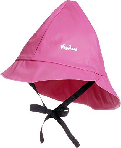 Playshoes Baby Regen-Mütze, wind- und wasserdichte Unisex-Mütze für Jungen und Mädchen mit Baumwollfutter - Hell Rosa Futter