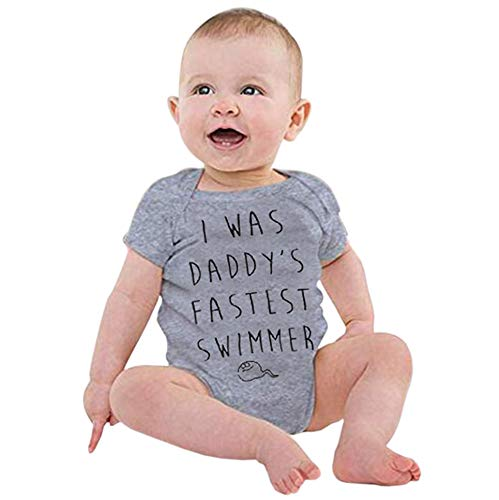 Softshell Overall Newborn Infant Letter Print Romper Jumpsuit Outfit -