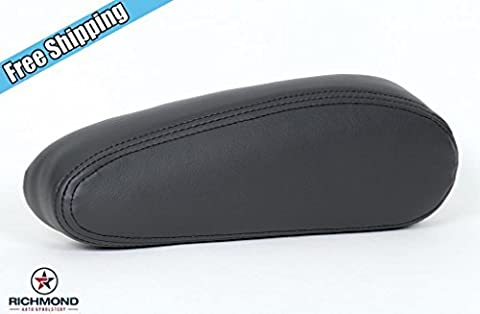 2003-2007 Chevy Avalanche 1500 LT LS Z71 4x4 Driver Side Armrest Cover, Dark Gray by Richmond Auto Upholstery