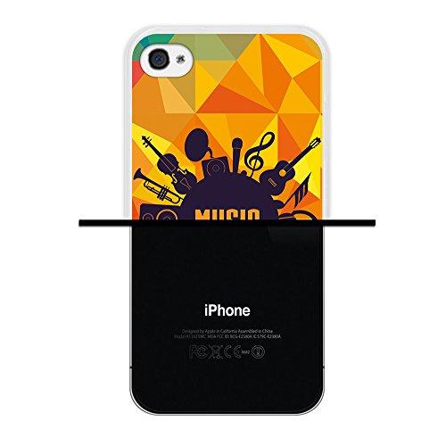 iPhone 4 iPhone 4S Hülle, WoowCase Handyhülle Silikon für [ iPhone 4 iPhone 4S ] Regenbogen Eule Handytasche Handy Cover Case Schutzhülle Flexible TPU - Transparent Housse Gel iPhone 4 iPhone 4S Transparent D0128