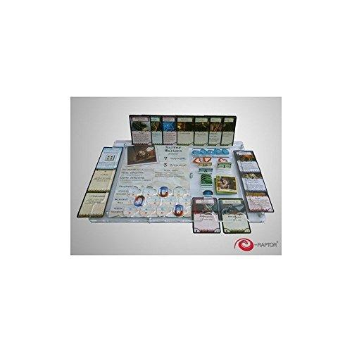 e-Raptor ERA93699 - Kartenspiele, Board Game Organizer, Arkham Horror Arkham Brettspiel