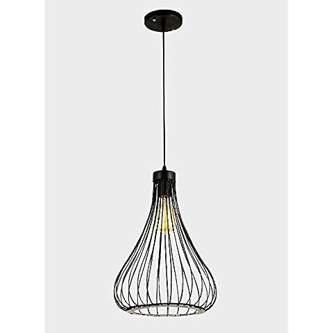 Metallo Vintage creativo IndustrialStyle minimalista lampadario pendente