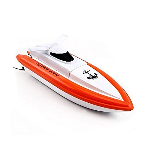 RC Boat,Stoga F1 Radio control Racing Boat Works In Water Remote Control Boat(Orange)