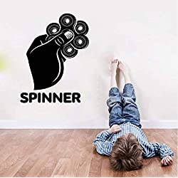 HLZLA Jeu Whirligig Spinner Hand Boys Bedroom Contrôleur de Jeu vidéo Fait Main Kid 44x57cm