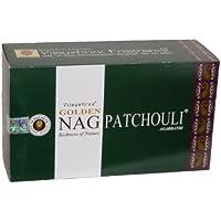 Preisvergleich für 180gms Box Of Golden Nag Patchouli Räucherstäbchen Agarbathi-in Lager und Versand durch Busy Bits