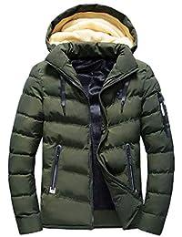 ChallengE Giacca Giubbotto Uomo Invernale Eleganti Giacche e Cappotti  Cappotto A Maniche Lunghe da Moto Parka 255888c2bb5