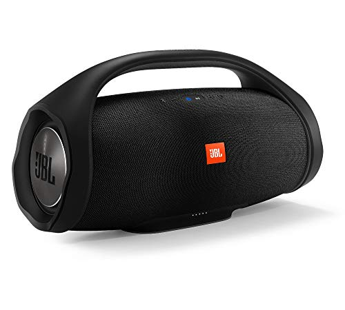JBL Boombox Wireless Bluetooth Speaker with Indoor and Outdoor Modes - Waterproof - Siri and Google Compatible - Black