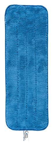 2 Mikrofaser-Mop-Pads, waschbare kommerzielle Qualität, Ersatznachfüllungen für Flache Wischmopps - Verwendung nass oder trocken -
