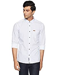 Symbol Amazon Brand Men's Regular Fit Casual Shirt