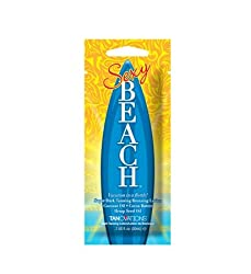 Ed Hardy 3 Packets of Sexy Beach Tanning Lotion Bronzer