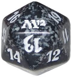 MTG Spindown D20 Life Counter - M12 M12 M12 Magic 2012 Black by Magic: the Gathering 2f5c74