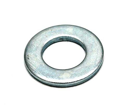 Bulk Hardware BH03679 M8, in acciaio placcato zinco lucido Rondella piatta