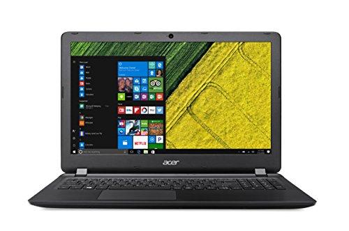 "Acer Aspire ES1-572-34VL Notebook, Display da 15.6"" HD LED, Processore Intel Core i3-6006U, RAM da 4 GB DDR4, 128 GB SDD, Scheda Grafica Integrata Intel HD, Nero"