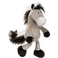 Nici 36896 - Pferd Schlenker, Plüschtier, 35 cm, graubeige