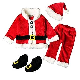 snaked cat Disfraz de Gato Serpiente de Navidad para niños y niñas de Papá Noel, Camisetas de Papá Noel + Pantalones + Gorro + Zapatos Ropa de Navidad