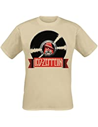 Led Zeppelin Mothership Record T-shirt sable