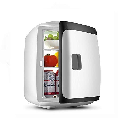 JLWF Autokühlschrank 15L -5~65 Celsius Innenkühlbox Tragbare Kühlschrank Kühler Heizung 12-24 V Mini Kühlschrank Black-Dual-core 5 Dessert