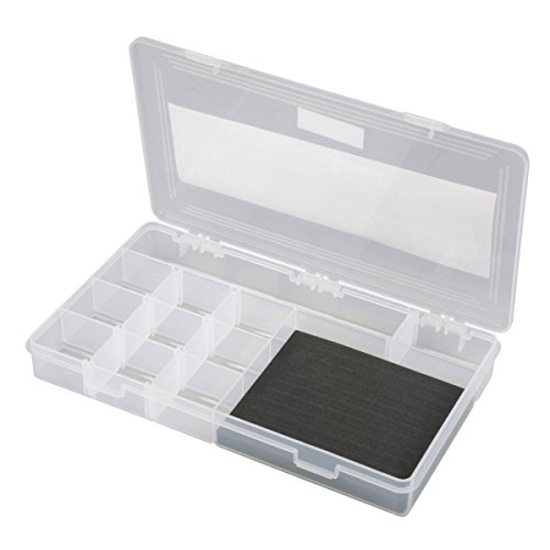 Spro Angelbox Parts Stocker L 160x95x47mm Tacklebox für Kleinteile