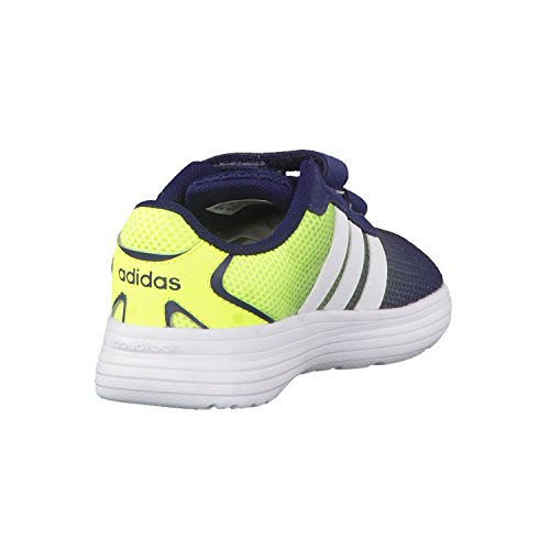 Adidas Cloudfoam Speed Inf, Scarpe Walking Baby Bambino Negro / Blanco / Amarillo (Maruni / Ftwbla / Amasol)