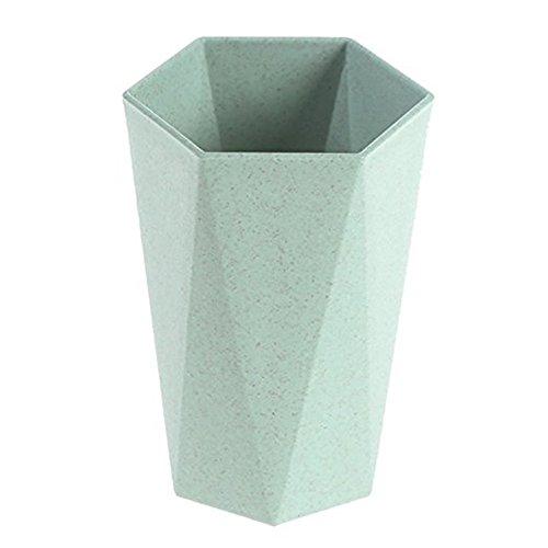 Weizen Stroh Zahnbürste Tasse Gesund biologisch abbaubar Material Cup für Wasser spülen Milch Kaffee Saft das Zähne putzen - Halloween-kaffee-kunst