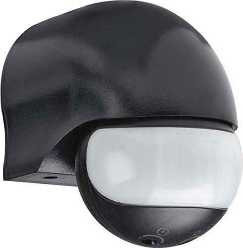 Grothe 5167050 Bewegungsmelder 180 Grad 230 V, Aufputz, IP44, Mc Guard Mini BM180 sw, schwarz