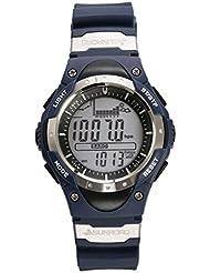 SUNROAD Reloj impermeable de la pesca del reloj digital del deporte del reloj relojes analógico multifunción fecha de barómetro altímetro cronómetro para hombres y mujeres (Azul)