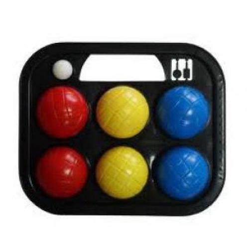 Softee 0009763 - Juego 6 bolas Petanca, multicolor, talla S