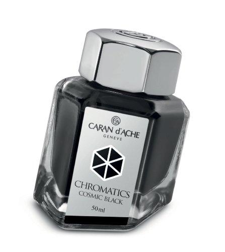 Caran d´Ache 8011.009 Tinten und Refills Tintenfass Cosmic 50 ml Schwarz