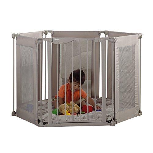 Lindam Safe amp; Secure Fabric Playpen - Natural