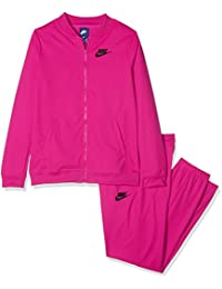 Nike G NSW Tricot, Chándal Mujer, mujer, G Nsw Tricot, Active Pink/Active Pink/Black, S