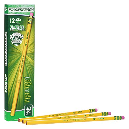 14 No.2 Pencils 6 Eraser Toppers 4 Pencil Grips.... NEW DIXON Variety Pack