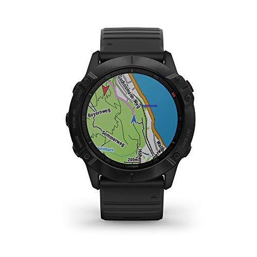 Imagen Garmin Fenix 6X Pro - Reloj inteligente con GPS para outdoor