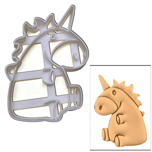 Cute unicorno Cookie Cutter, 1 pc, ideale per mitico feste a (Divertimento Cookie Cutters)