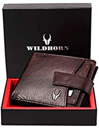 WildHorn® RFID Protected Genuine High Quality Leather Wallet
