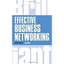Effective Business Networking (Brilliant Business)