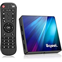 Bqeel Android TV Box R1 Plus/ 4G Ram 64G Rom/ Android 9.0 TV Box mit RK3318 Quad-Core 64bit Cortex-A53/ unterstützt WiFi 2.4G/5.0G /Bluetooth 4.0/ 4K/USB 3.0/ HDMI 2.0a Smart tv Box Android Box