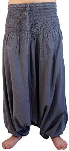 Haremshose Pluderhose Pumphose Aladinhose aus Baumwolle in 5 Farben / Pluderhosen und Aladinhosen Rostorange